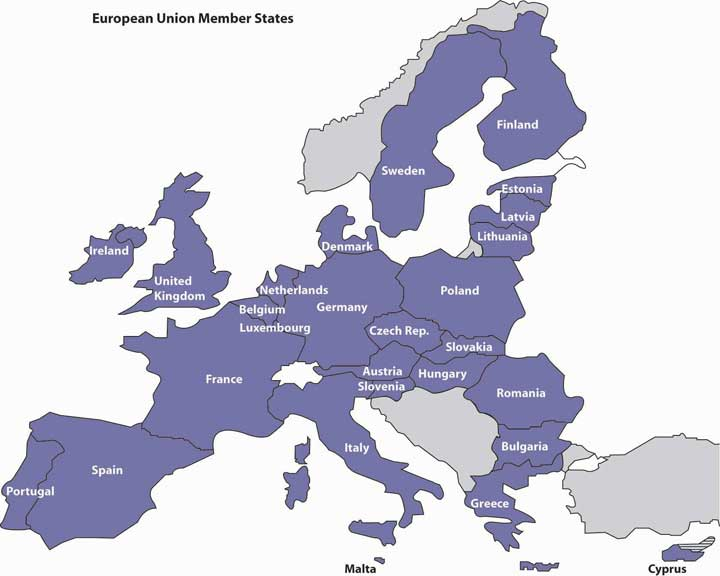The Nations of the European Union